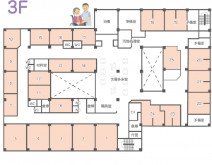 多床室3F